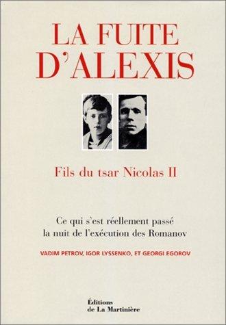La fuite d'Alexis fils du Tsar Nicolas II
