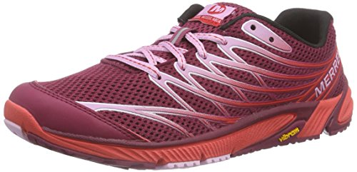 Merrell Bare Access Arc 4, Chaussures de Trail Femme Bright Red