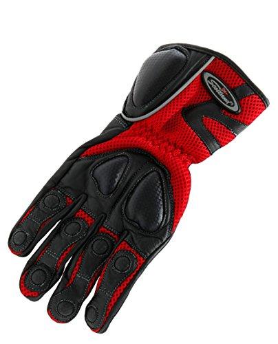 scotland-guanti-impermeabili-in-pelle-e-tessuto-vento-uomo-rosso-52