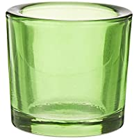 Harmony Glass Candle Holder Rnd 6.5X6Cm Green B020201402_03