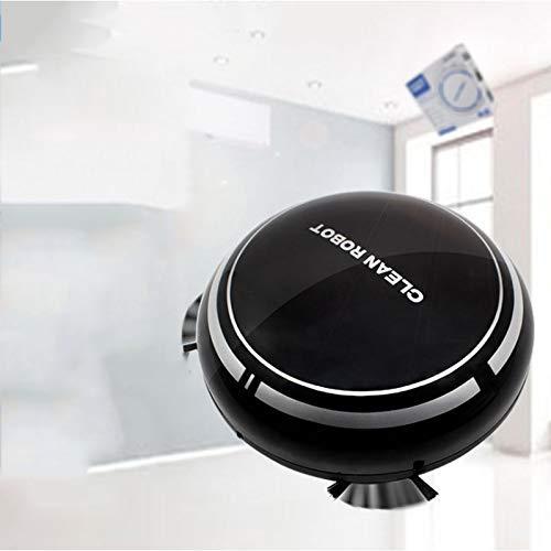 Mini robot, compacta y barredora, recargable, con reducción automática de ruido, detección...