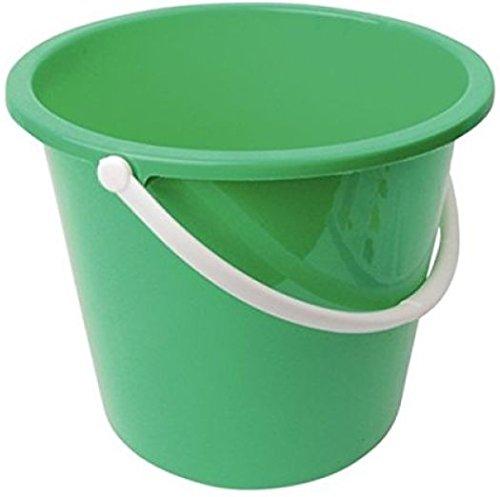Rund Kunststoff Haushalt Eimer, 10l, grün