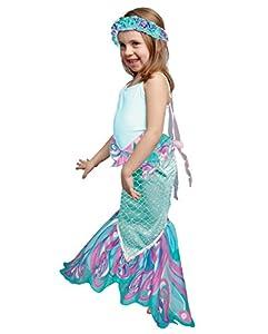 DREAMY DRESS-UPS 71616 Dreamyfins - Falda de Sirena, Color Verde