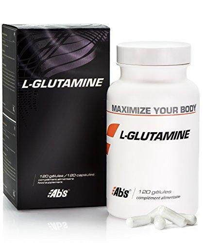 L - GLUTAMINE * 570 mg / 120 gélules végétales * Pureté garantie à 99 % * Seule forme biologiquement active de la glutamine * Améliore la récupération musculaire après l'exercice * Fabriqué en FRANCE * Qualité contrôlée par certificat d'analyse * 100% satisfait ou remboursé