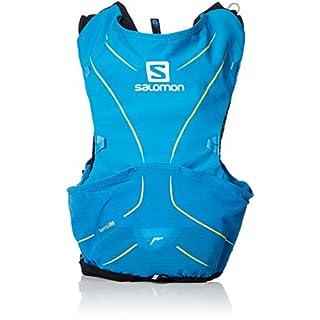 Salomon Advanced Skin 5 Set Lightweight Hydration Pack, 5 Litre, Hawaiian Surf/Night Sky, Medium/Large