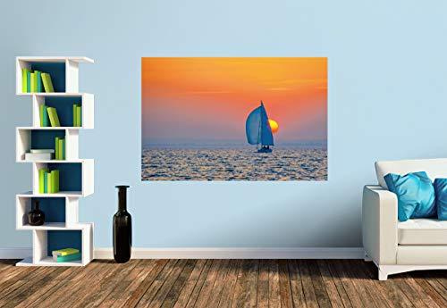 Premium Foto-Tapete Sundowner (versch. Größen) (Size S | 186 x 124 cm) Design-Tapete, Wand-Tapete, Wand-Dekoration, Photo-Tapete, Markenqualität von ERFURT