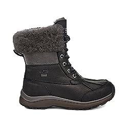 UGG Women's Adirondack Boot III Quilt Boot Black Size 7.5 B US - 41s 2B3 2BP 2BjoL - UGG Women's Adirondack Quilt Boot III Black 7.5 B US
