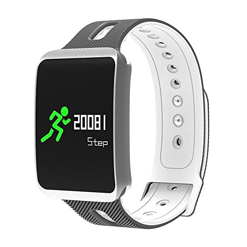 41s%2B3pRmDtL. SS500  - Fitness Tracker, Heart Rate Monitor IP68 Waterproof Smart Bracelet Pedometer Wristband for iOS & Android,OOLIFENG