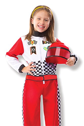 Imagen de melissa & doug 18562  disfraz de piloto de automóviles de carreras alternativa