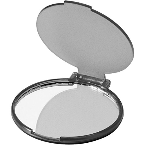 Bullet Kosmetikspiegel Carmen (6,5 x 0,4 x 6 cm) (Transparentes Schwarz)