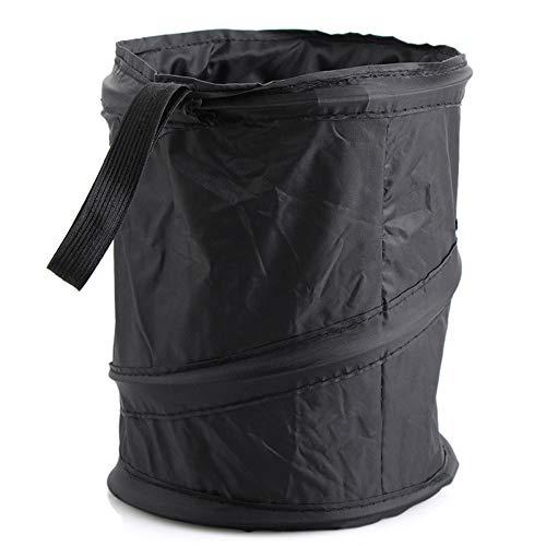Ecloud Shop® 2 STÜCKE Tragbare Falten Auto Mülleimer Universal Faltbare Auto Mülltonne Papierkorb Hängen Reise Aufbewahrungsbox Tasche
