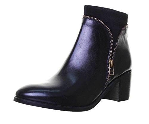 a, Damen Stiefel & Stiefeletten, Schwarz - schwarz - Größe: 40 ()