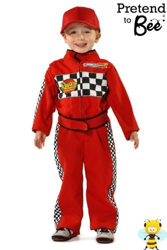 F1 Racing Driver - Kids Costume 5 - 7 - Car Racing Kostüm Kinder