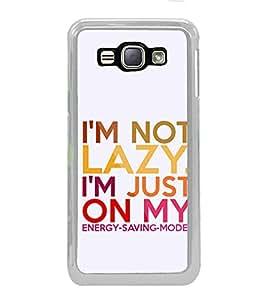 Fuson Iam Not A Lazy Designer Back Case Cover for Samsung Galaxy J1 (6) 2016 :: Samsung Galaxy J1 2016 Duos :: Samsung Galaxy J1 2016 J120F :: Samsung Galaxy Express 3 J120A :: Samsung Galaxy J1 2016 J120H J120M J120M J120T (Love Quotes Inspiration Emotion Care Fun Funny)