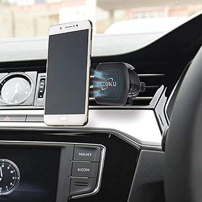 IZUKU Support Téléphone Voiture Universel Magnétique avec la Rotation à 360 Degrés?Garantie à vie?pour iPhone XS / X/ 8, Galaxy S7, et Les Autres Smartphones par IZUKU - Housses , Chargeurs , Kindle & Fire, Etuis , Téléphone Mobile, PC Portable, Tablette,