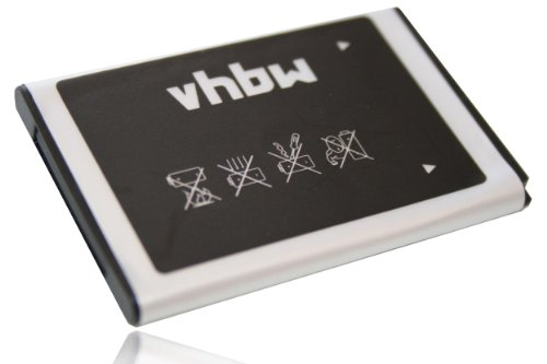 vhbw Li-Ion Akku 700mAh (3.7V) für Handy Telefon Smartphone Samsung SGH-ZV60, M7600, M7500 Armani wie AB463651BA, AB463651BE, AB46365UG.