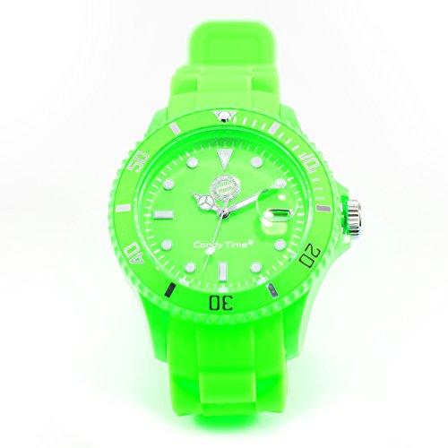 orologio-da-polso-candy-time-verde-fc-bayern-mnchen-gratis-sticker-analogico-al-quarzo-orologio-unis