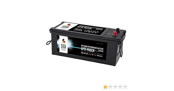 Siga Opti Truck Lkw Batterie 140ah 12v Shd Elektronik