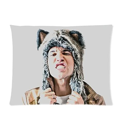Personalized Chicago Rock Band Fall Out Boy Pete Wentz Close Up DesignPillowcase 20*30 inches inches (one side)