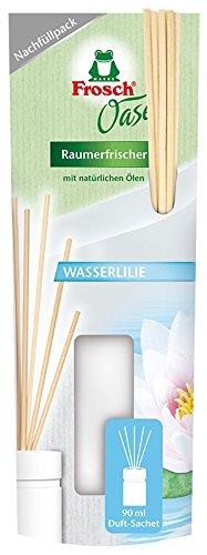 Frosch Oase Raumerfrischer Wasserlilie Nachfüllpack, 90 ml