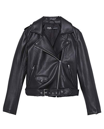 Zara Damen Jacke aus Kunstleder 3046/043 (Small)