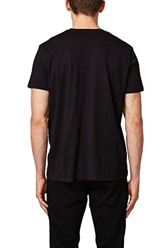 ESPRIT Herren T-Shirt Schwarz (Black 001)