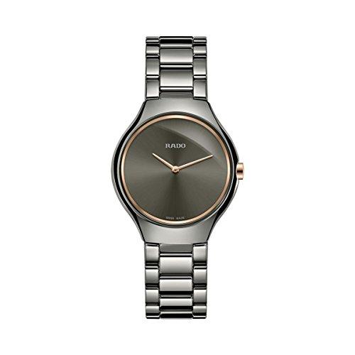 Rado Women's True Thinline 30mm Ceramic Band & Case Quartz Watch R27956132