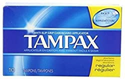 TAMPAX REGULAR FLUSH APPL 10