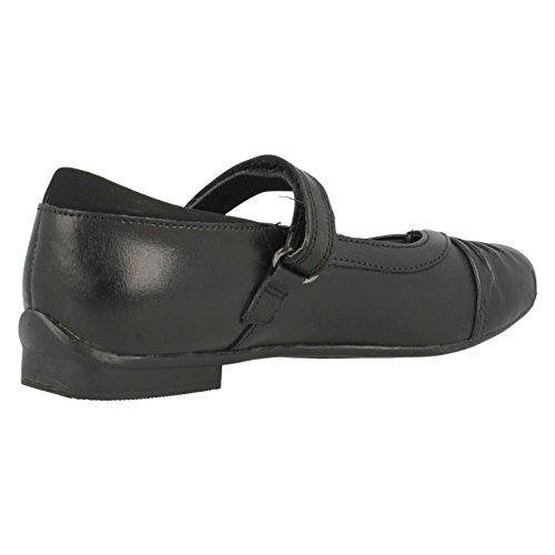 Clarks Dolly Shy Mädchen Geschlossene Ballerinas Black Leather