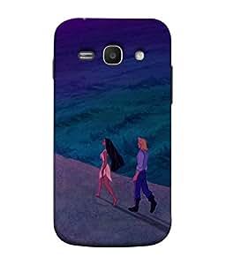 FUSON Designer Back Case Cover for Samsung Galaxy Ace 3 :: Samsung Galaxy Ace 3 S7272 Duos :: Samsung Galaxy Ace 3 3G S7270 :: Samsung Galaxy Ace 3 Lte S7275 (Lovers Valentine Cartoon arts Beauty Girl handsome Boy)