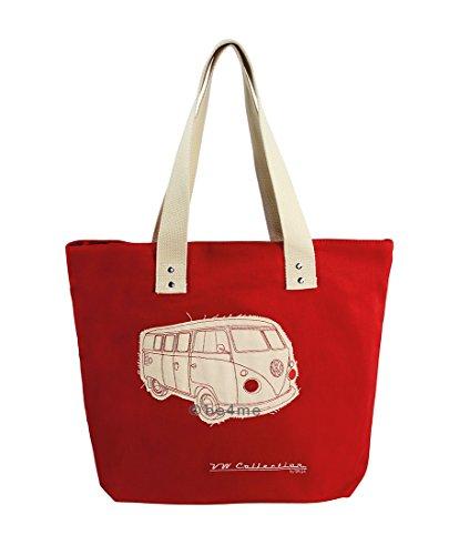 Preisvergleich Produktbild Brisa busb11Strandkorb Tasche VW Combi T1, rot