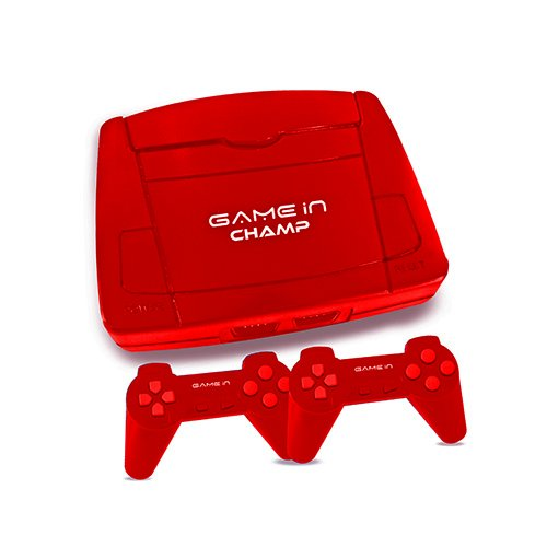 Mitashi Game In Champ Gaming Console (Red)
