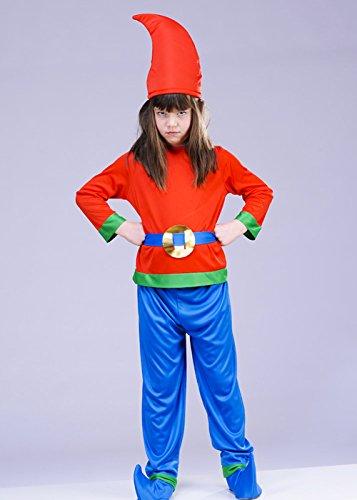 Imagen de disfraz de gnomo de jardín de estilo enano de niños small 4 6 years  alternativa
