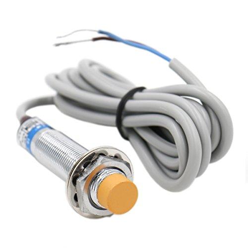 2 Draht 12 (heschen Induktive Näherungsschalter Sensor Switch LJ12A3–4-j/DZ Detektor 4mm 90–250VAC 400mA Normalerweise Close (NC) 2Draht)