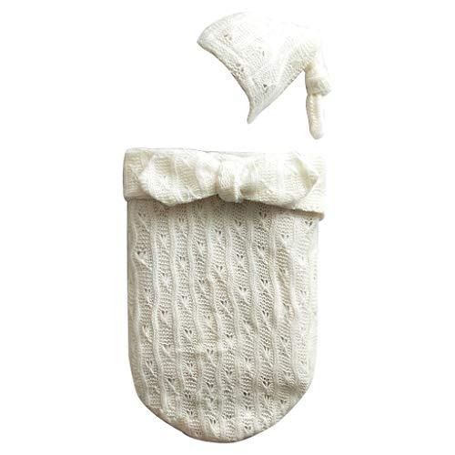 Baumwolle Mischung Anzug (JOYKK Neugeborenen Decke Warme Swaddle Wrap Fotografische Kostüme Vollmond Foto Anzug Mischung Baumwolle Schlafsack - 1#)