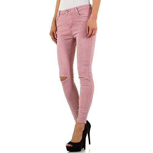iTaL-dESiGn - Jeans - Skinny - Femme Rose
