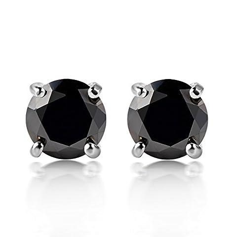diamant aimant de mode stud boucles d'oreilles pour hommes Boucles d'oreilles Zircon coréens Oreillette Pas de boucles d'oreilles simples-C