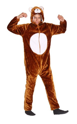 o 13148 Deluxe Bären Kostüm, Größe:XL (Bar Themen-halloween-kostüme)