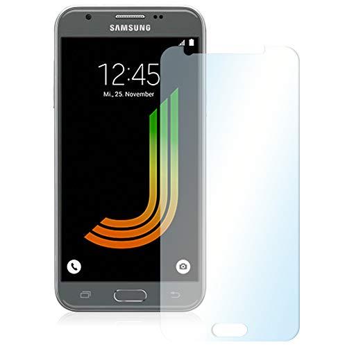 NAUC Posten Glas Schutz Folie Panzerglas Displayschutz Handy 2X Schutzglas Tempered, Handy Modelle für:Samsung Galaxy J3 2017