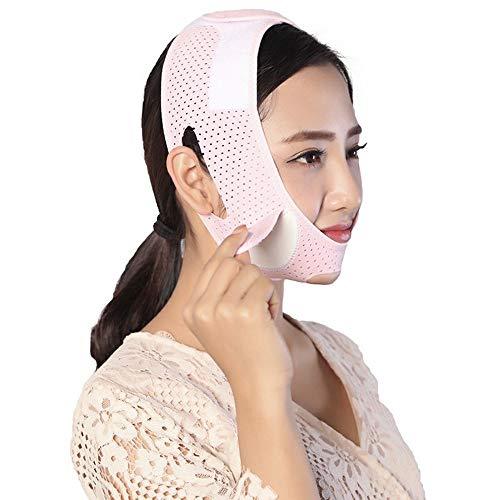 Dünnes Gesichts-Band - dünne Gesichts-Bandage, die anhebt, um Doppelkinn-Dekret V-Masken-Schlaf-Maske Breathable anzuziehen (Gesichts-band)