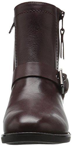 Geox Damen D Felicity Abx A Kurzschaft Stiefel Rot (DK BURGUNDYC7357)