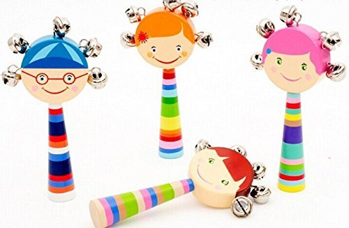 Cute-Baby-Kids-Sound-Music-Gift-Toddler-Rattle-Musical-Wooden-Colorful-Toys