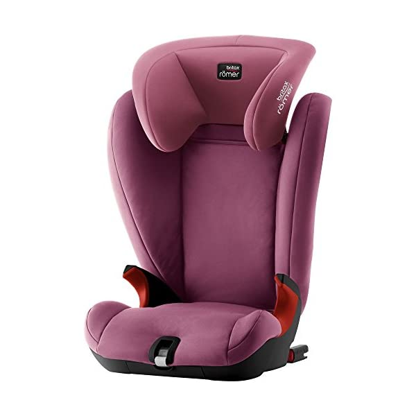 Britax Römer KIDFIX SL BLACK SERIES Group 2-3 (15-36kg) Car Seat - Wine Rose Britax Römer Simple installation - soft-latch isofit system Misuse limiting design - intuitively positioned seat belt guides Lightweight - easy to transfer between cars 1