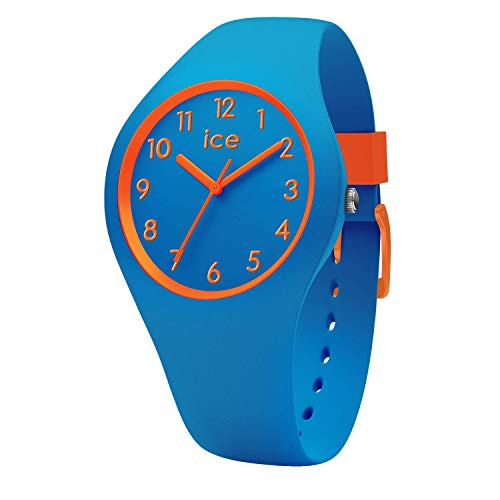 Ice-Watch - Ice Ola kids Robot - Blaue Jungenuhr mit Silikonarmband - 014428 (Small) (Kids-uhren)