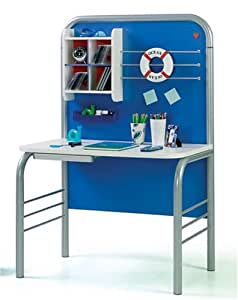 Ocean Blue Study Desk - Boys Bedroom Furniture