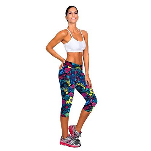 WINWINTOM - Short de sport - Femme multicolore noir L noir foncé