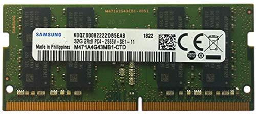 Samsung 32 GB 260 pin DDR4-2666, SO-DIMM 2666Mhz, PC4-2666V-S (1x32GB)