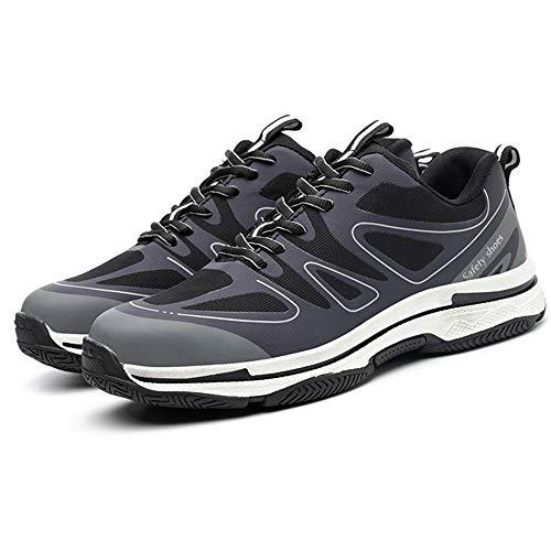 H.l scarpe di sicurezza acciaio toe cap maschio anti-smash pugnalata penetrazione gas antiscivolo scarpe di sicurezza protezione,43