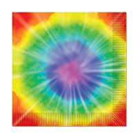 Tie-Dyed Luncheon Napkins (2-Ply) (16/Pkg)