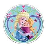 ~ Disney Frozen Tortenaufsatz 20,5cm Esspapier/Reispapier III. Cup Cake Dekoration Geburtstag Party Kids Hochzeit Topper